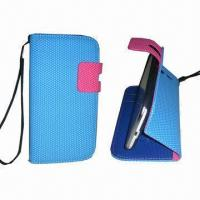 Buy cheap Hot Selling Leather Mobile Phone Case, Suitable for Samsung Galaxy I9300, with Smart Stand Case product