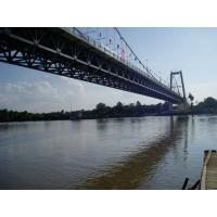 Buy cheap Heavy Loading Steel Cable Suspension Bridge High strength For highway product