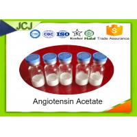 Buy cheap Peptide Hormones  Angiotensin Acetate  CAS 58-49-1 for Lower Blood Pressure product