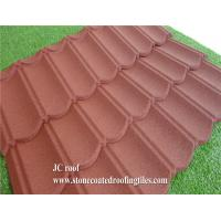 China Stone Coated Steel Roof Tile Type and Al-Zn Alloy Coated metal Sheet Material Roof Tile on sale