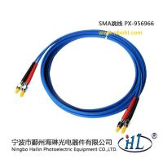 Buy cheap SMA Duplex-50/125-OM3 fiber optic patch cords made of advance ceramic ferrule product