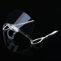 Buy cheap Clear ABS PET Hygiene Face Mask For Reception Staff product