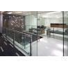 Buy cheap Le prix usine a adapté la balustrade aux besoins du client d'intérieur de balcon de verre trempé de balustrade d'acier inoxydable de conception from wholesalers