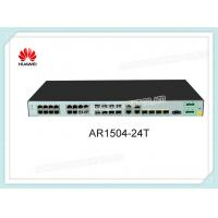 Buy cheap Huawei Router AR1504-24T 4 X GE Combo 24 X FE RJ45 IoT VoIP Gateway Router product