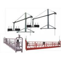 Buy cheap Hot galvanization Electric Suspended Access Equipment 2kw with 6m , 7.5m product