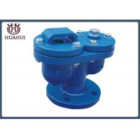 China Blue Color Safety Air Relief Valve , Double Orifice Valve Epoxy Painting on sale