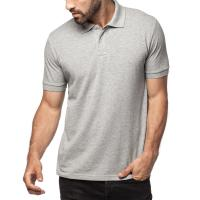 Buy cheap Pique Knit Rib Collar And Cuff Mens Cotton Polo Shirts , 2 Buttons Pocket Polo Shirts product