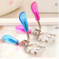 Buy cheap Professional Mechanical Eyelash Curler  Private Label Stainless Steel Eyelash Curler product