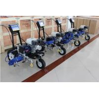 Buy cheap Traffic Sign Zebra Crossing Road Line Marking Machine Gasoline Powered 5.5HP 4.0L/Min product