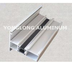 Buy cheap Spray Powder Coated Aluminum Curtain Wall Profile Length Customized product