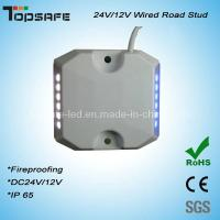 Buy cheap 24/12vdc Intelligent LED Tunnel Wired Road Stud product