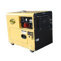 China 5KVA Electric Start Portable Diesel Power Generator Power Set CE Certification on sale
