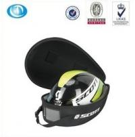 Buy cheap Dustproof hard eva bicycle helmet case bag with zipper product