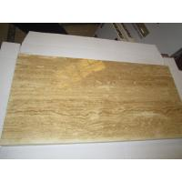Buy cheap Noce Travertine Laminated Tiles /Natural Travertine tiles product