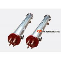 Buy cheap Stainless Steel Shell And Tube Heat Exchanger / Horizontal Tube Evaporator For Water Chiller product
