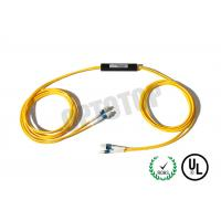 Buy cheap Multimode Optical Cable Splitter 2 x 2 LC / UPC , Fiber Optic Coupler 850 / 1310nm product