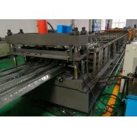 Corrugated Floor Deck Roll Forming Machine , 0.8 - 1.5mm Thick Metal Roll Former