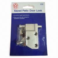 Buy cheap Zinc-alloy Patio Door Lock with Key Function product