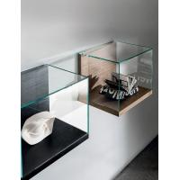 Buy cheap Wall Mounted Retail Display Cases , Small Wood And Glass Display Case Nest Wall Version product