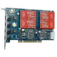 TDM410P 4 Port with 4 FXO Modules Asterisk Card for Voip