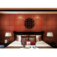 Buy cheap Red Plaids Bronzing Contemporary Wall Coverings Home Decorating Wallpaper product