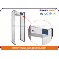 Buy cheap Multi 6 Zones Walk Through Metal Detector Manufacturers For Security Checking product