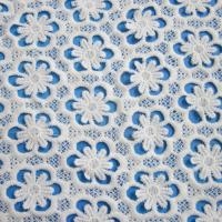 Buy cheap Embroidered Lace Fabric, Made of Nylon, Suitable for Garments,dress product