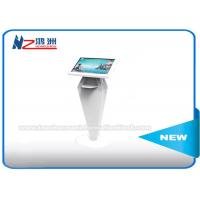 Multi Touch Screen Boarding Pass Self Service Kiosk , Airport Self Check In Machine