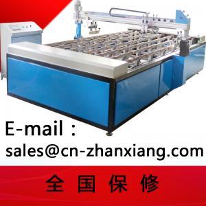 Buy cheap Печатная машина экрана полуавтоматного принтера экрана стеклянная from wholesalers