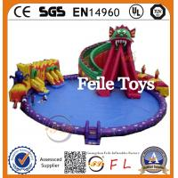 Buy cheap most popular and high quality inflatable water park slides For Sale product