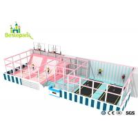 Buy cheap Huge Children Indoor Playground Macaron Theme / Toddler Play Equipment from wholesalers