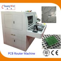Buy cheap Double Station PCB Router Machine With Auto Routing Bit Checker from wholesalers