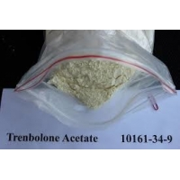 Buy cheap No Side Effect Trenbolone Acetate Yellow Powder Purity 99.5% CAS 10161-34-9 For Muscle Enhancement product