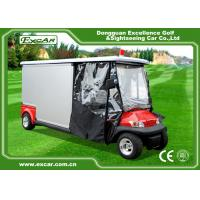 Buy cheap Environmental Electric Ambulance Car Red Golf Cart Ambulance For Hospital product