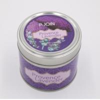 Buy cheap Grape Wine Art Candle Custom Paraffin Wax Scented Tin Candle with color label product