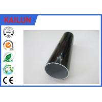 Buy cheap Black Electropheresis  Extruded Aluminium Tube for Home Decoration 25MM / 22MM / 19MM Dia product
