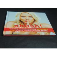 Buy cheap Glossy Paper Lamination Embossed Cookbook Hardcover Book Printing 350gsm product