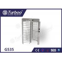 Quality Full Height Turnstile Gate Stainless Steel Turnstiles Access Control System for sale
