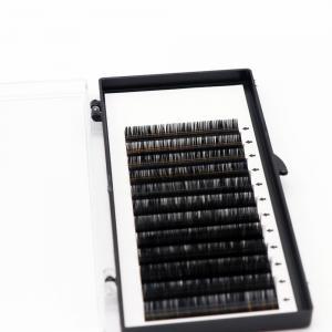 Buy cheap Natural Individual Eyelash Extensions Faux Mink Eyelashes Extensions Cc D Curl product