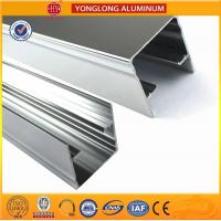 Buy cheap Machinery Polished Aluminium Profile Silver White High Surface Brightness product