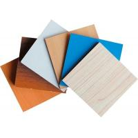 Quality Chipboard Plywood Laminated Particle Board Marble Pattern Customized Size for sale
