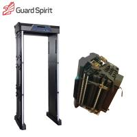 Buy cheap IP55 Walk Through Security Scanners , Door Frame Metal Detector Airport With Battery product