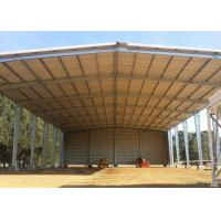 Buy cheap Fast Build Steel Structure Warehouse Shed Galvanized Light Steel Frame product