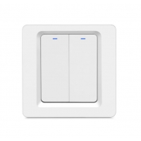 Buy cheap 2 Gang Tuya App Touch Screen Dimmer Switch Smart Remote Control product