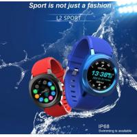 Buy cheap L2 Smart Watch L2 Android IOS Mobile Smart Watch IP68 Waterproof Blue tooth Smart Bracelet product