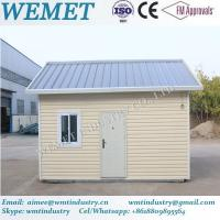 Buy cheap Hot sale prebabricated container house with pvc exterior wall cladding and insulation panel product