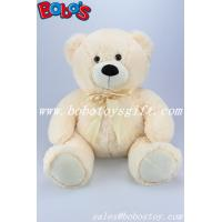 "Buy cheap 15.8"" The Sunset Yellow Promotional Gifts Stuffed Bear Animal With Ribbon product"
