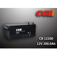 Buy cheap 200AH CB122000 ABS Plastic V0 Solar Lead Acid Battery Non Spillable construction product
