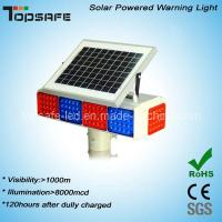 Buy cheap New Design Solar Powered LED Traffic Warning Flashing Light with CE (TP-BS-4M4N) product
