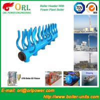 Buy cheap High Temperature Boiler Header Manifolds with Boiler Manifold Piping product
